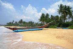 Exotic fisherman boat . Stock Image