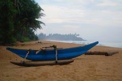 Exotic fisherman boat . Royalty Free Stock Photography
