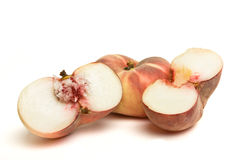 Exotic Flat peach Royalty Free Stock Photos