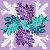 Exotic floral pattern Stock Photos