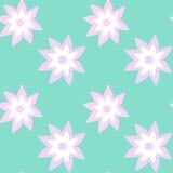 Exotic flower cute seamless pattern Stock Photo
