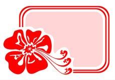 Free Exotic Flower Frame Stock Image - 2993831