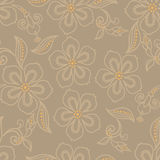 Exotic flower pattern Stock Photos