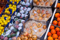 Exotic fresh fruits Stock Images