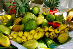 Exotic fruit. Still-life from exotic fruit Royalty Free Stock Photos
