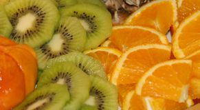 Exotic Fruit. Closeup of different kinds of exotic fruit Royalty Free Stock Images