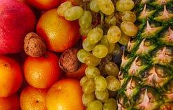 exotic fruit background Royalty Free Stock Photo