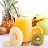 Exotic fruit juice Royalty Free Stock Image