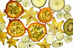 Exotic Fruit Mix Royalty Free Stock Photos