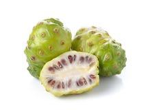 Exotic Fruit - Noni on white background Royalty Free Stock Images