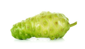 Exotic Fruit - Noni on the white background Royalty Free Stock Photos