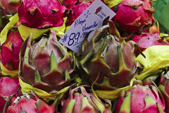 Exotic fruit pitaya Stock Image