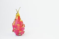 Exotic fruit pitaya or pitahaya, dragon fruit Hylocereus undatu Royalty Free Stock Photos