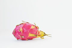 Exotic fruit pitaya or pitahaya, dragon fruit Hylocereus  Royalty Free Stock Photo