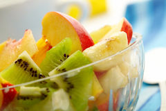 Exotic fruit salad Royalty Free Stock Images