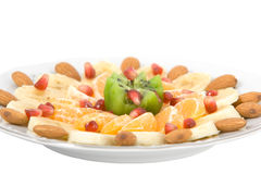 Exotic fruit salad Royalty Free Stock Photography