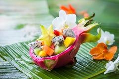Exotic fruit salad Stock Image