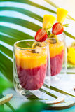 Exotic fruit smoothie Stock Photo