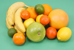 Exotic fruits stock image