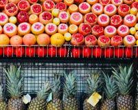 Exotic fruits royalty free stock photos