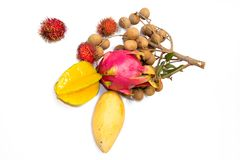 Exotic fruits Stock Photography