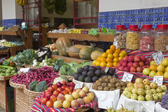 Exotic Fruits On A Market Royalty Free Stock Photos