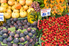 Exotic fruits for sale at a market Stock Photography