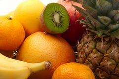Exotic fruits separately Stock Photography