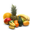 Exotic fruits still life Stock Image