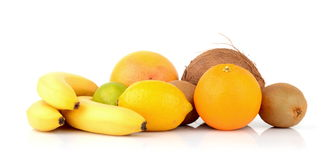 Exotic fruits Stock Images