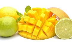 Exotic fruits Stock Photos