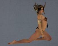 Exotic goddess Stock Photo