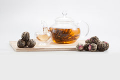 Exotic green tea Royalty Free Stock Images