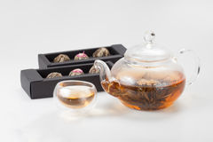 Exotic green tea Royalty Free Stock Photo