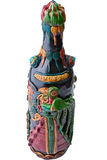 Exotic Guatemalan Wiine Bottle Stock Photo