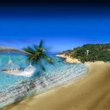 Exotic Holiday Destination Royalty Free Stock Image