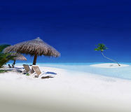 Exotic Holiday Destination Royalty Free Stock Photography