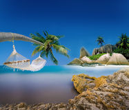 Exotic Holiday Destination Stock Photography