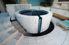 Exotic Hot Tub royalty free stock images