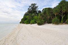 Exotic Island Beach Royalty Free Stock Photography