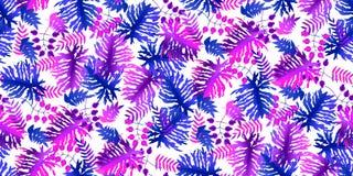 Free Exotic Jungle Botanical Plant Seamless Pattern Stock Photo - 182759200