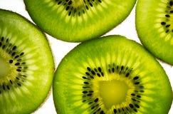 Exotic Kiwi. Freshly cuts of exotic kiwi Royalty Free Stock Image
