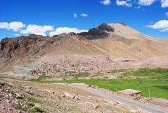 Exotic Ladakh locale Stock Images