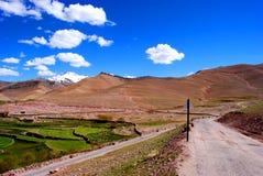 Exotic Ladakh scenic Stock Image