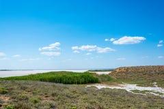 Exotic lake Elton. Royalty Free Stock Photography