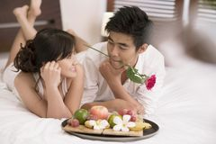 Exotic love stock photography