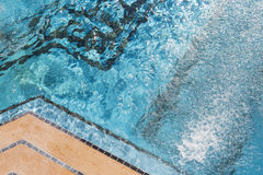 Exotic Luxury Swimming Pool Abstract Royalty Free Stock Photo