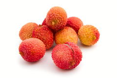Exotic lychee fruit Stock Photo