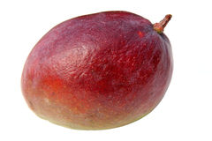 Exotic Mango. Close-up of red mango isolated over white. Shot with a Canon 20D stock images