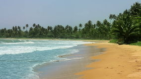 Exotic matara beach, sri lanka Stock Photography